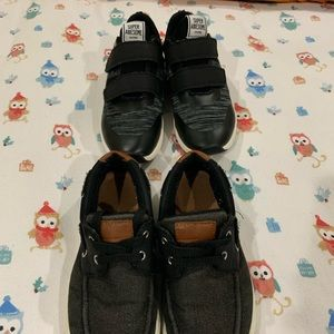 H&M Black Sneakers & Loafers